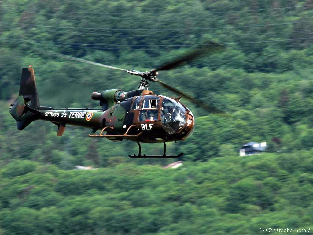 Gazelle ALAT ]- [ AS350 SAF ] -[ Patrouille REVA ]